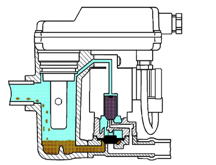 Figure 1: Condensate Enters Drain